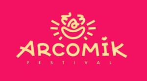 logo Arcomik festival humour gael barnabe designer get bold
